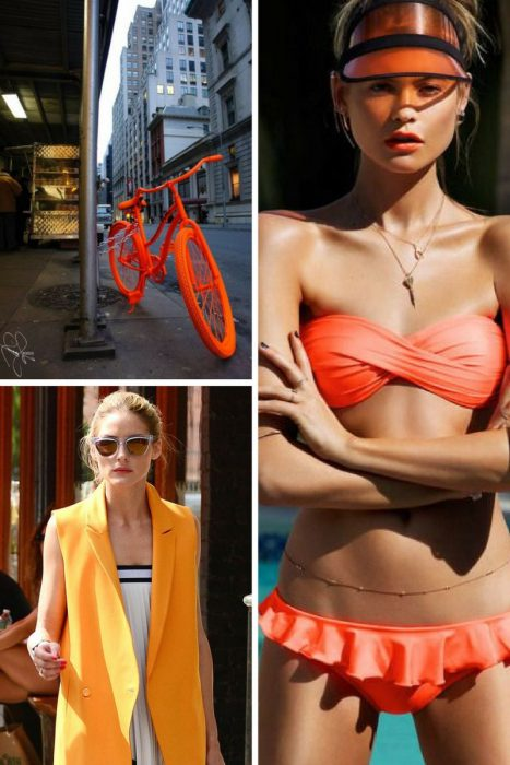 Orange Color In Clothes For Women 2018 (3)
