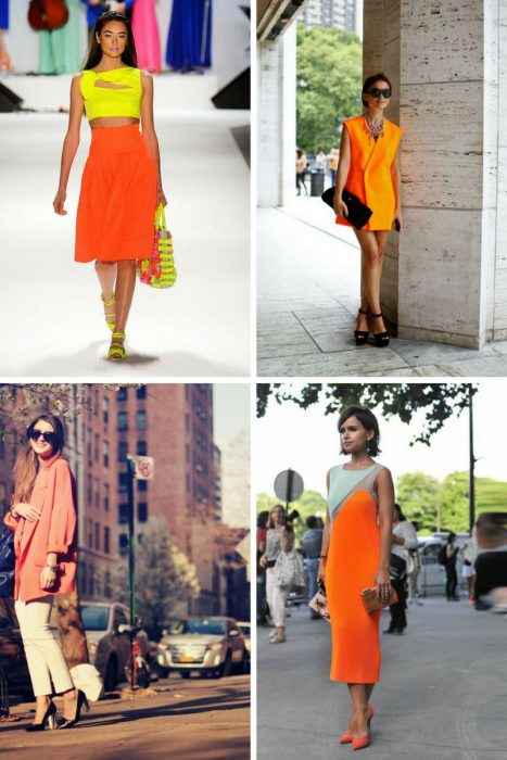 Orange Color In Clothes For Women 2018 (5)