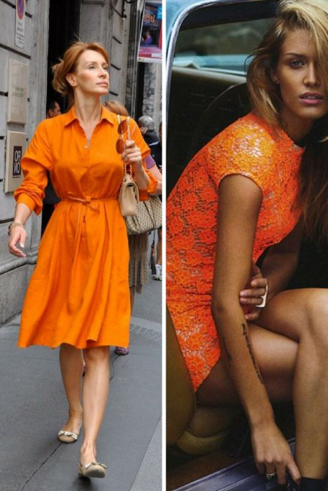 Orange Color In Clothes For Women 2018 (6)