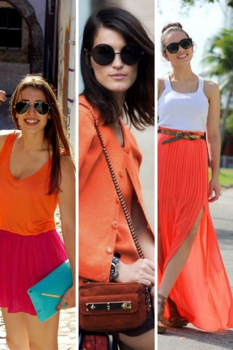 Orange Color In Clothes For Women 2018 (7)