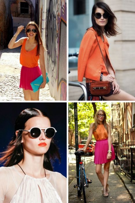 Orange Color In Clothes For Women 2018 (8)