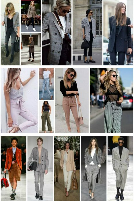 Oversized Blazers and Dressy Pants 2018 (1)