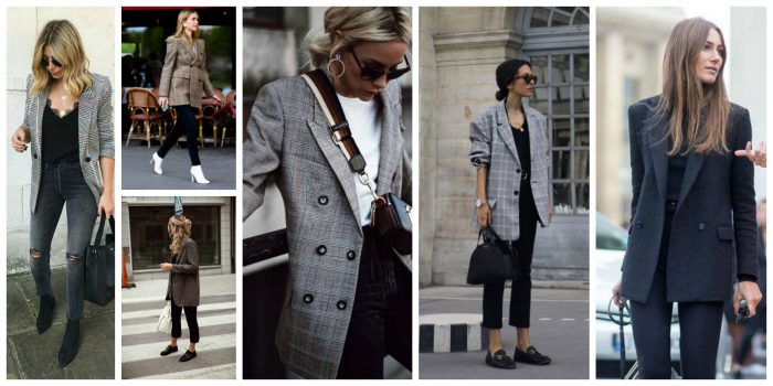 Oversized Blazers and Dressy Pants 2018 (11)
