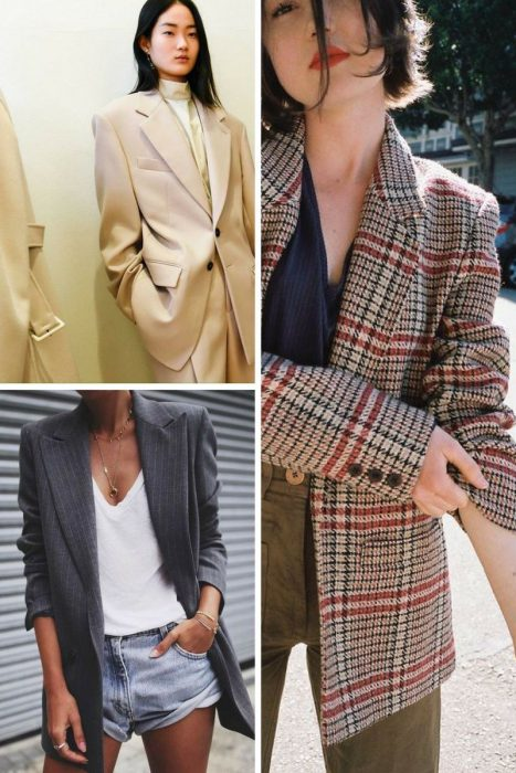 Oversized Blazers and Dressy Pants 2018 (3)