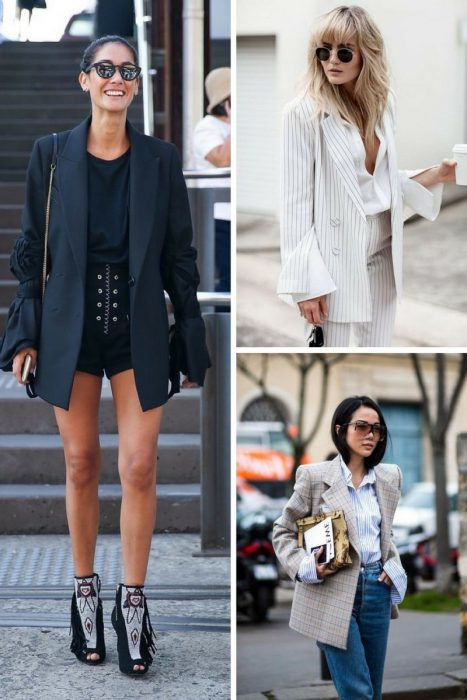 Oversized Blazers and Dressy Pants 2018 (4)