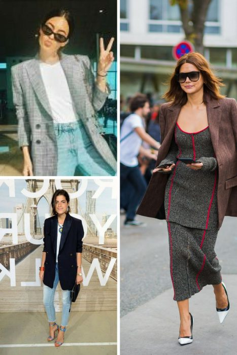 Oversized Blazers and Dressy Pants 2018 (7)