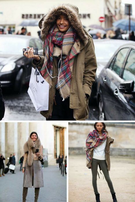 How To Look Great In Oversized Scarves 2019