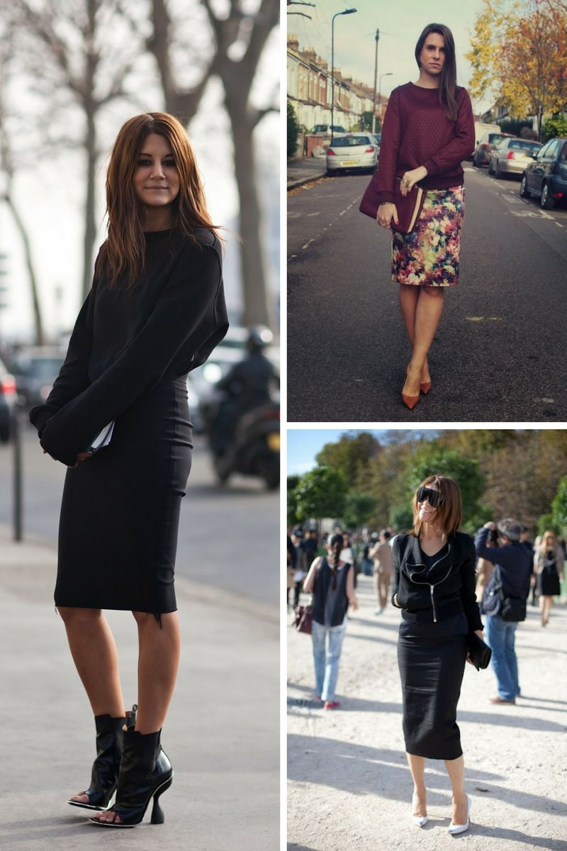 How To Wear Pencil Skirts In 2018 Outfit Ideas To Copy