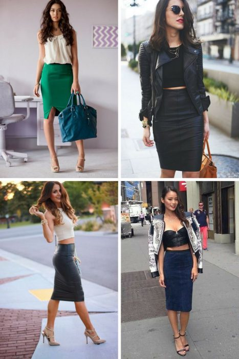 How To Wear Pencil Skirts: Outfit Ideas To Copy 2019