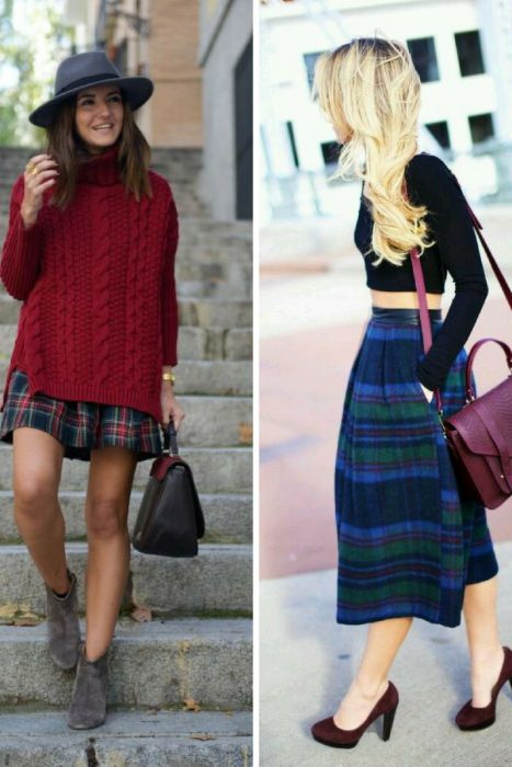 Plaid Skirts 2018 (1)
