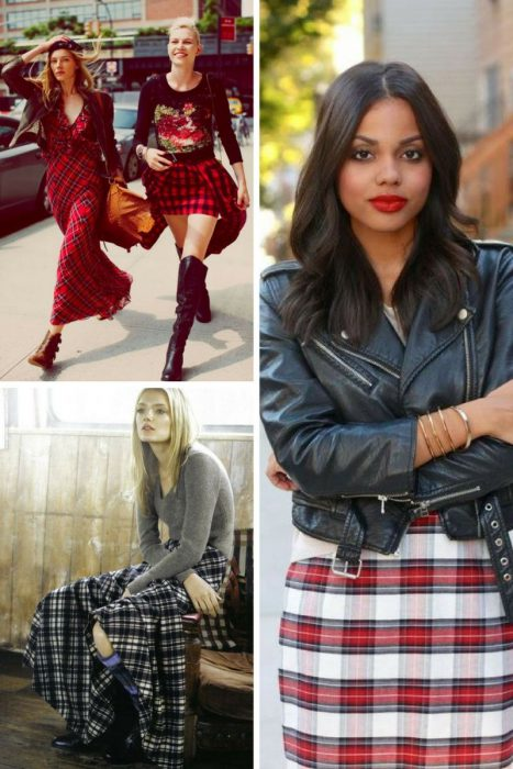 Plaid Skirts 2018 (10)