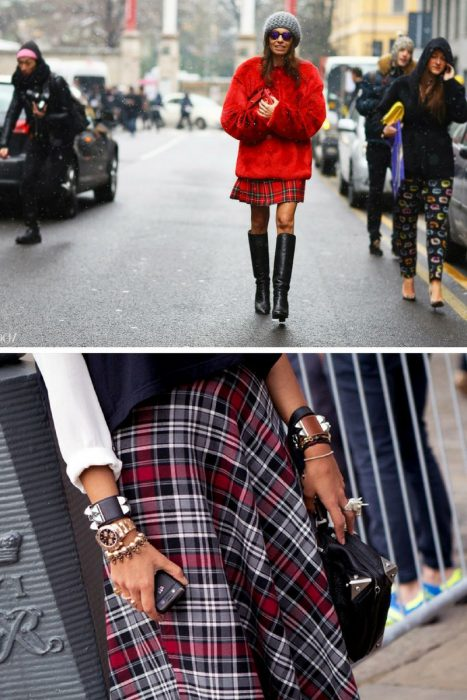 Plaid Skirts 2018 (14)