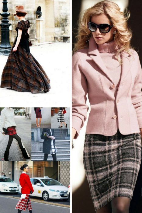 Plaid Skirts 2018 (3)