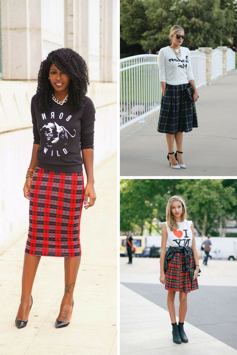 5c8565af3b047 Why Should You Wear Plaid Skirts 2019 - OnlyWardrobe.com