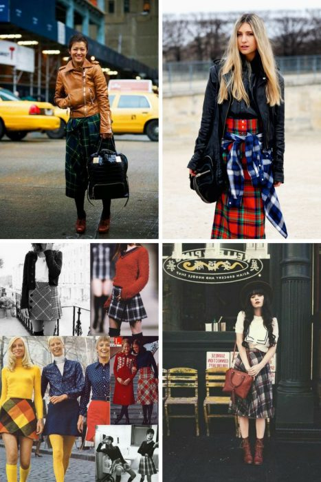 Plaid Skirts 2018 (5)