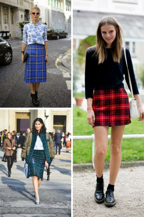Plaid Skirts 2018 (6)
