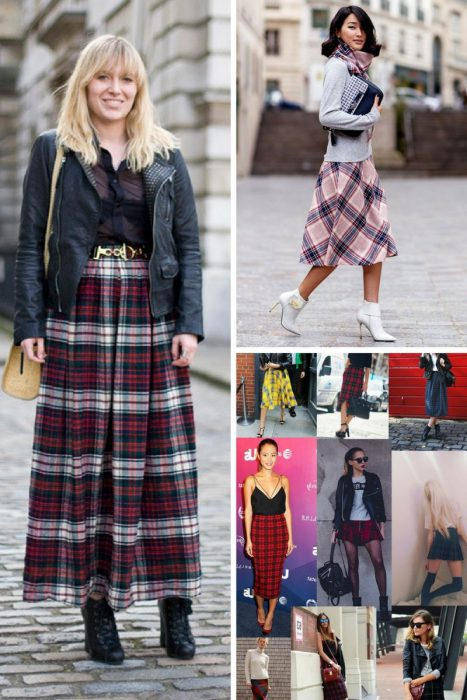 Plaid Skirts 2018 (7)