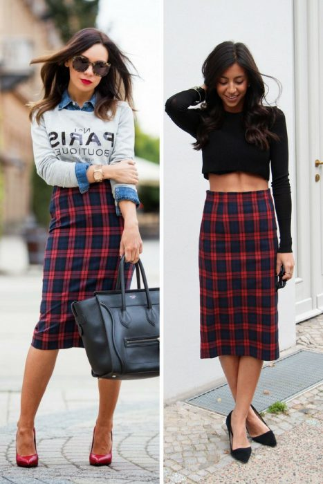 Plaid Skirts 2018 (8)