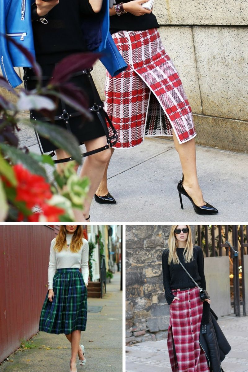 Why Should You Wear Plaid Skirts In 2018