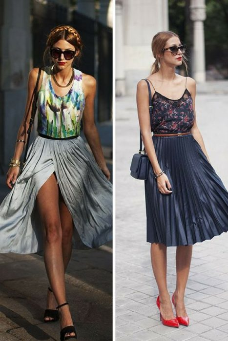 Best Pleated Skirts Street Style Looks 2020