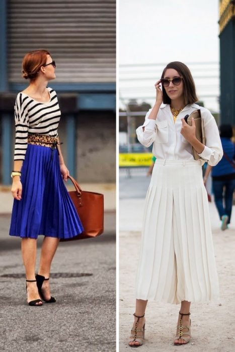 Best Pleated Skirts Street Style Looks 2019