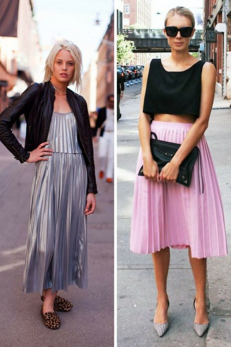 Pleated Skirts Summer 2018 (1)