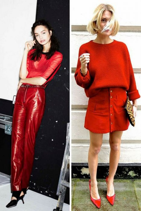 Red Clothing Outfit Ideas For Women 2019