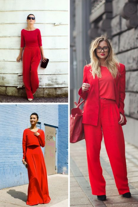 Red Outfits For Women 2018 (4)