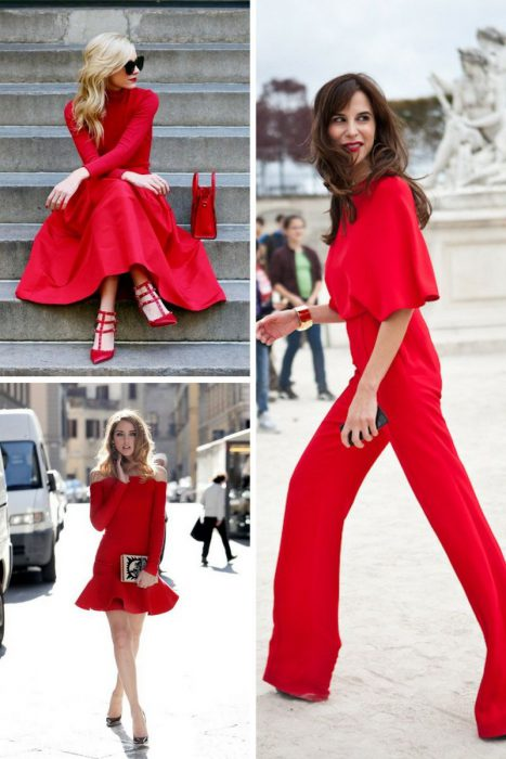 Red Outfits For Women 2018 (6)