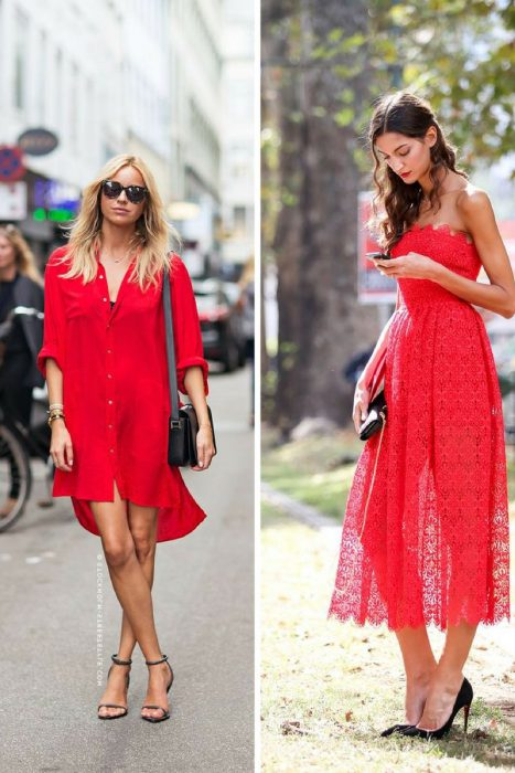 Red Clothing Outfit Ideas For Women 2020