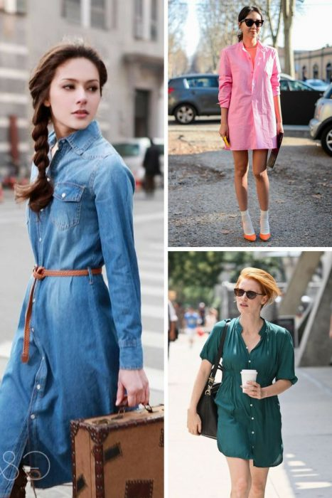 Shirtdresses To Wear In 2018 (8)