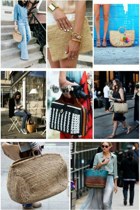 Straw Bags Trend For Ladies With Style 2019