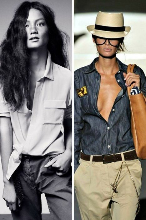 Unbuttoned Shirt Trend 2018 (10)