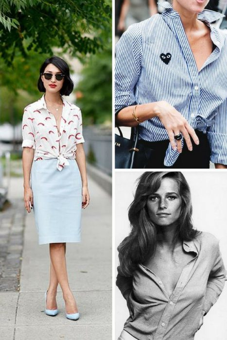 Unbuttoned Shirt Trend 2018 (11)