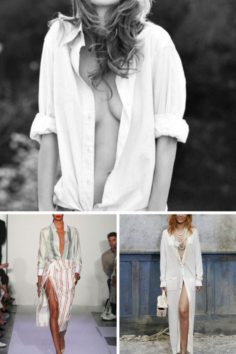 Unbuttoned Shirt Trend 2018 (9)