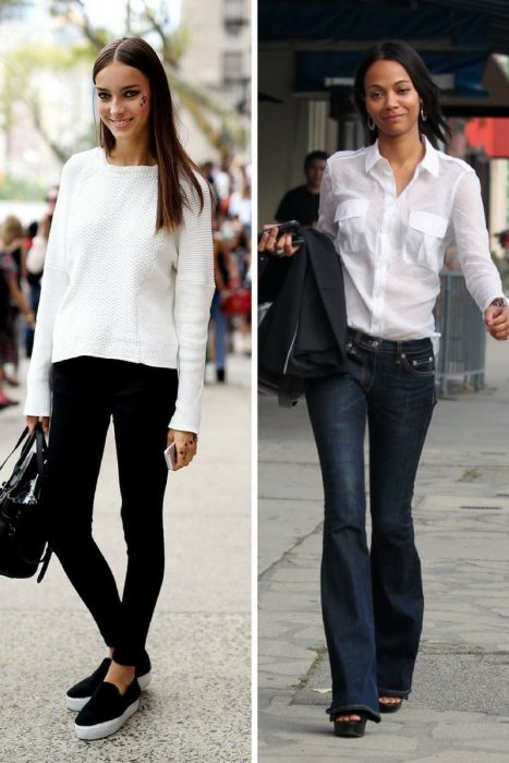 Spring Black And White Outfits For Women 2019