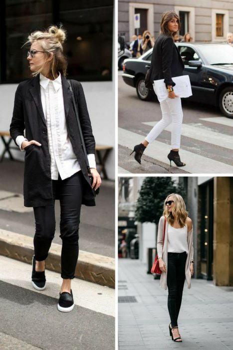 Black And White Outfit Combinations 2018 (3)