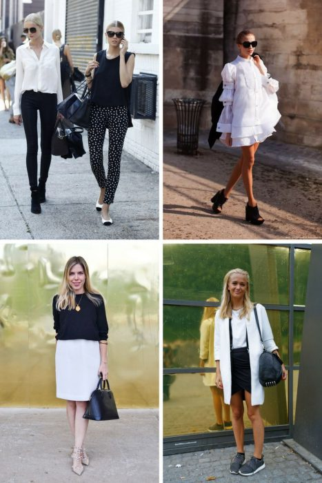Black And White Outfit Combinations 2018 (4)