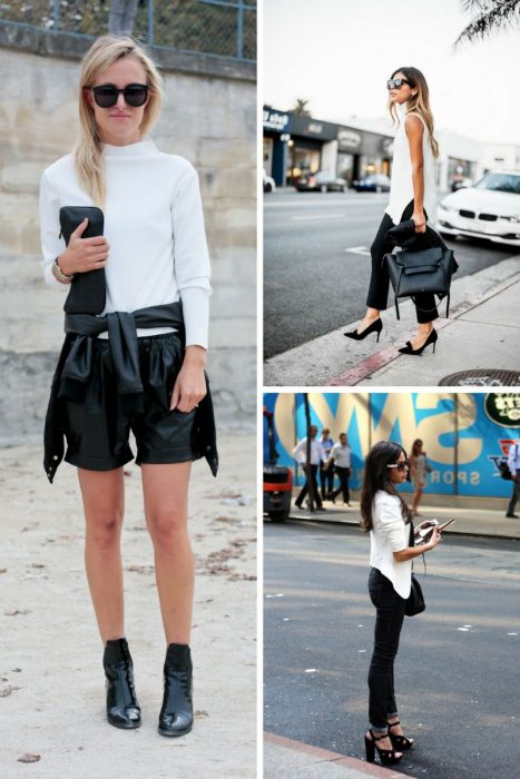 Spring Black And White Outfits For Women 2020