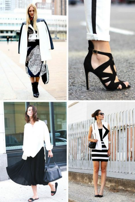 Black And White Outfit Combinations 2018 (8)