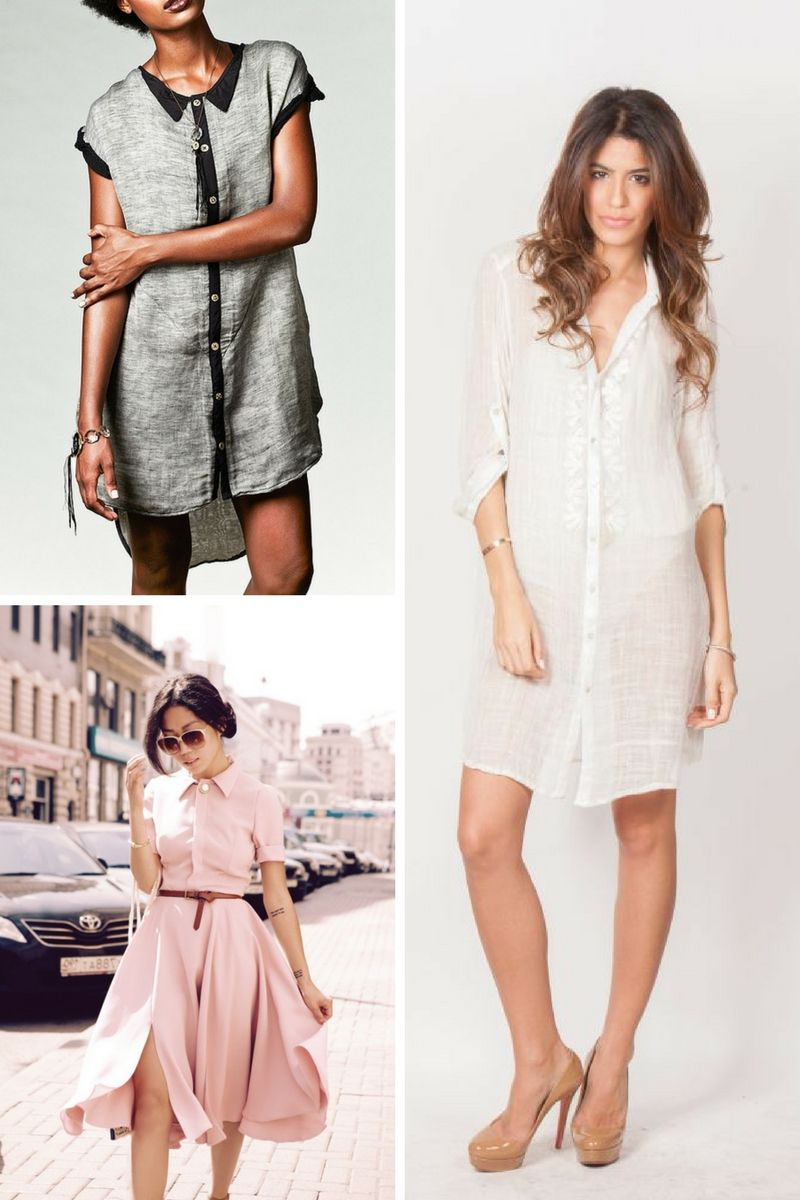 7c6fbd46dc1 Button-Down Shirts And Dresses Trend 2019 - OnlyWardrobe.com