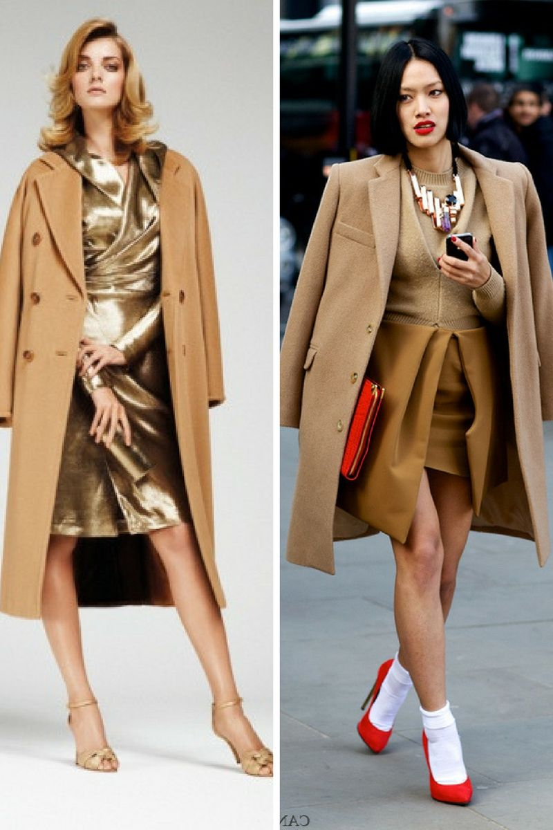 2019 year lifestyle- Camel trend coats