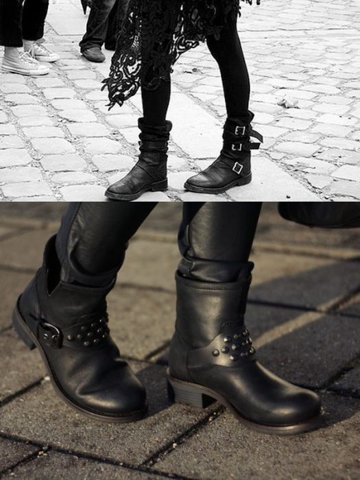 Combat And Motorcycle Boots For Women 2018 (12)