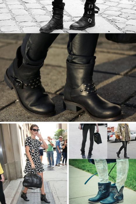 Combat And Motorcycle Boots For Women 2018 (2)