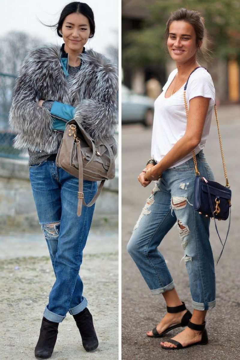 Cuffed Jeans 2018 Street Style Approved | OnlyWardrobe.com