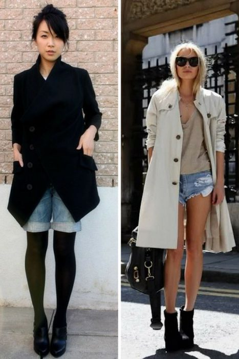 How To Wear Denim Cut Offs With Tights 2019