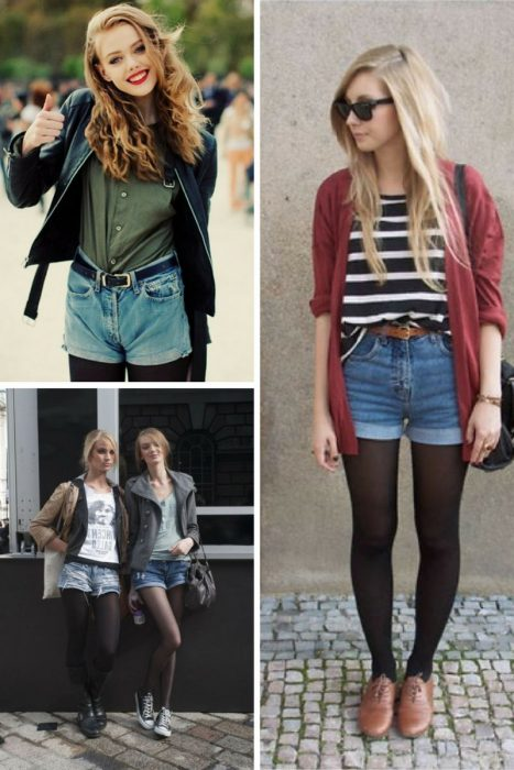 How To Wear Denim Cut Offs With Tights 2020