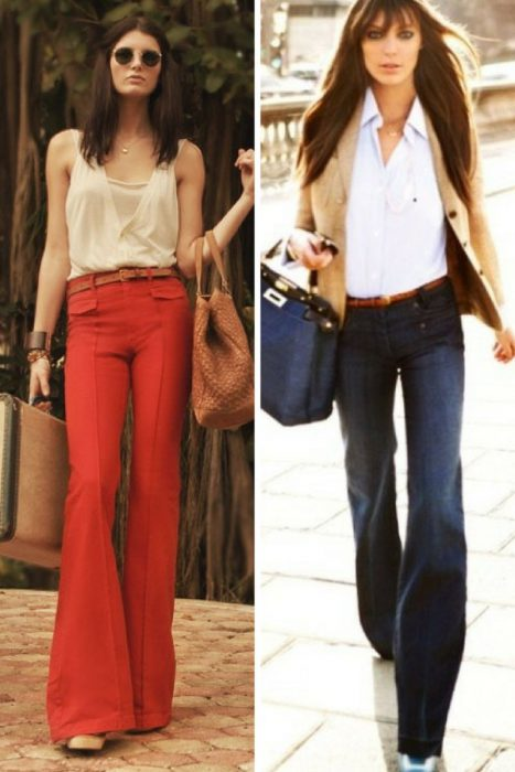 Flared Pants And Jeans 2018 (14)