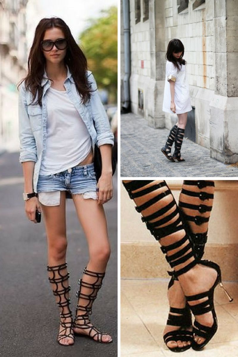 cfb5711072d High Gladiator Sandals Are Back In Style 2019 - OnlyWardrobe.com