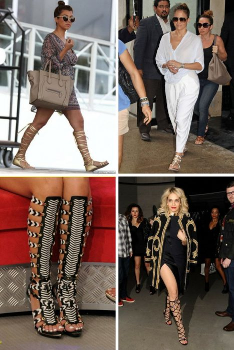 High Gladiator Sandals Are Back In Style 2019